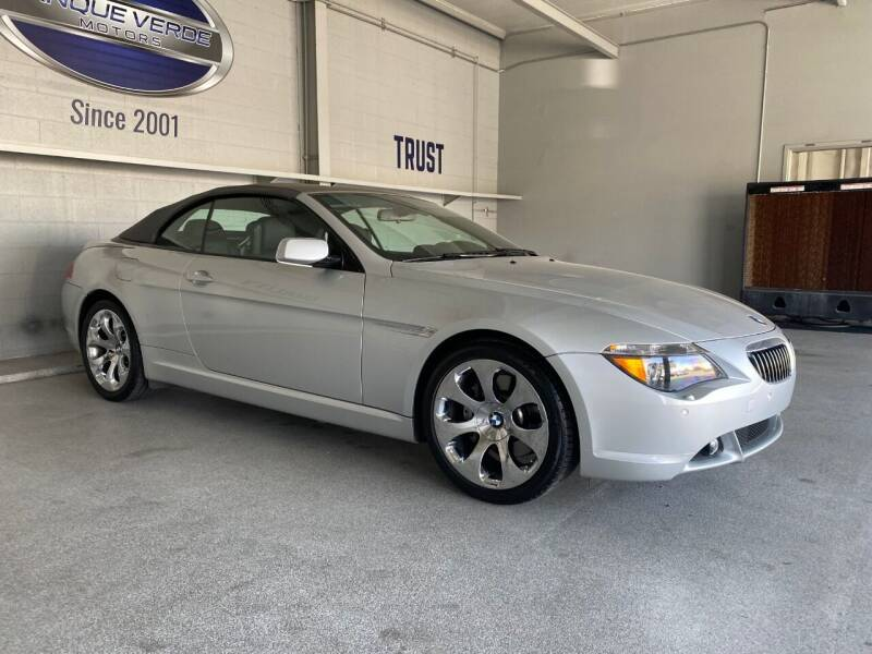 2006 BMW 6 Series for sale at TANQUE VERDE MOTORS in Tucson AZ
