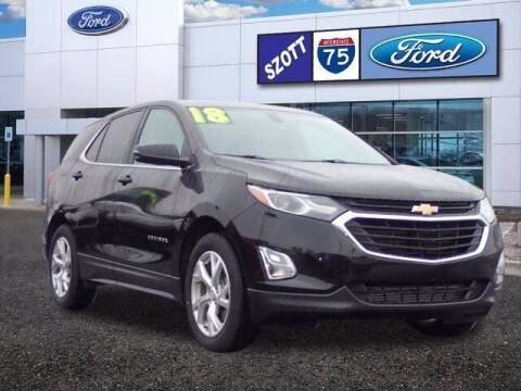 2018 Chevrolet Equinox for sale at Szott Ford in Holly MI