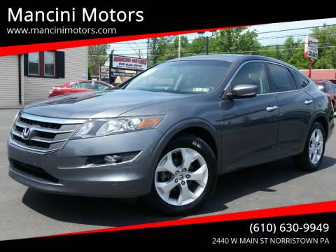 2012 Honda Crosstour for sale at Mancini Motors in Norristown PA