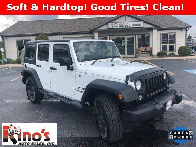2014 Jeep Wrangler Unlimited for sale at Rino's Auto Sales in Celina OH