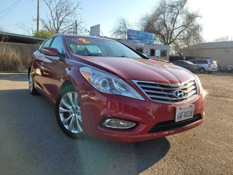 2012 Hyundai Azera for sale at Golden Gate Auto Sales in Stockton CA