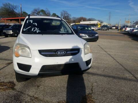 2009 Kia Sportage for sale at Nile Auto in Fort Worth TX