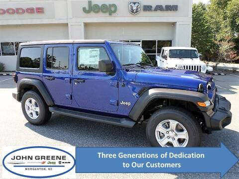 2019 Jeep Wrangler Unlimited for sale at John Greene Chrysler Dodge Jeep Ram in Morganton NC