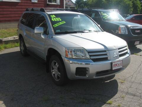 2004 Mitsubishi Endeavor for sale at Joks Auto Sales & SVC INC in Hudson NH