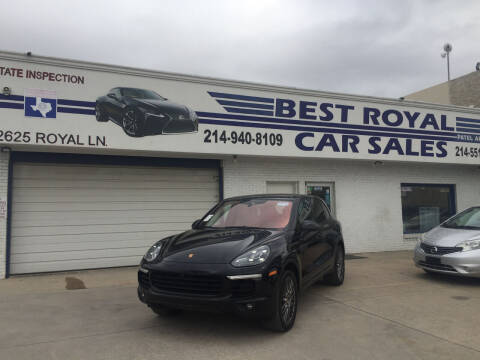2017 Porsche Cayenne for sale at Best Royal Car Sales in Dallas TX