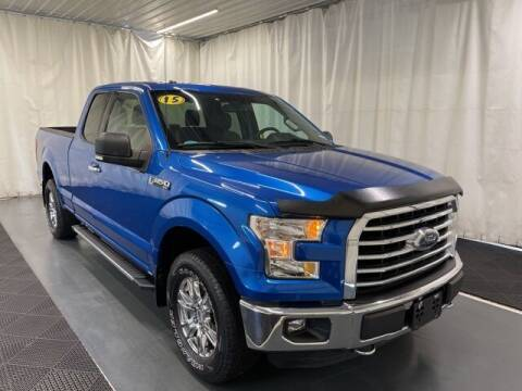 2015 Ford F-150 for sale at Monster Motors in Michigan Center MI