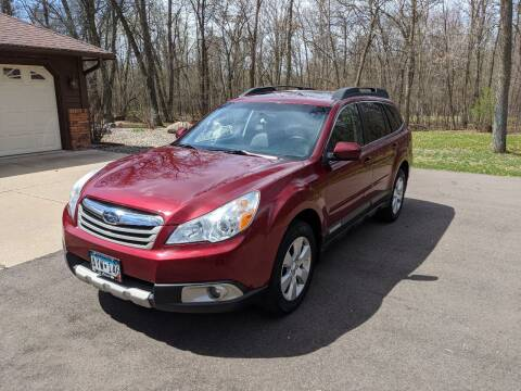 2012 Subaru Outback for sale at MN Motors and Detailing in Saint Cloud MN