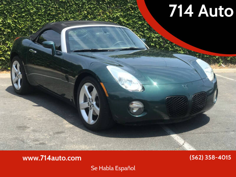 2006 Pontiac Solstice for sale in Whittier, CA