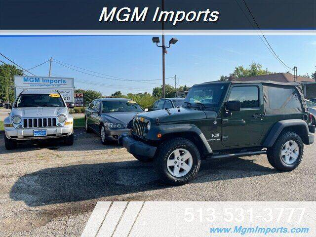 2007 Jeep Wrangler for sale at MGM Imports in Cincinnati OH