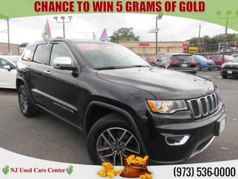 2019 Jeep Grand Cherokee for sale at New Jersey Used Cars Center in Irvington NJ