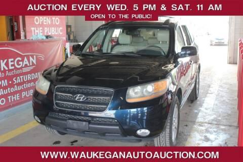 2009 Hyundai Santa Fe for sale at Waukegan Auto Auction in Waukegan IL