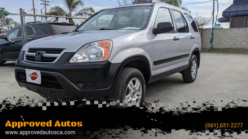 2004 Honda CR-V for sale at Approved Autos in Bakersfield CA