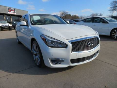 2015 Infiniti Q70L for sale at KIAN MOTORS INC in Plano TX