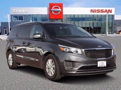 2018 Kia Sedona for sale at EMPIRE LAKEWOOD NISSAN in Lakewood CO