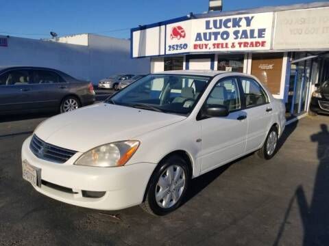 2006 Mitsubishi Lancer for sale at Lucky Auto Sale in Hayward CA