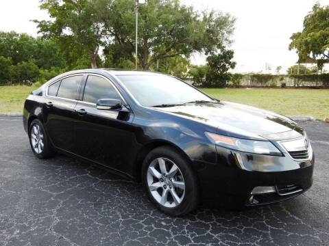 2012 Acura TL for sale at SUPER DEAL MOTORS 441 in Hollywood FL