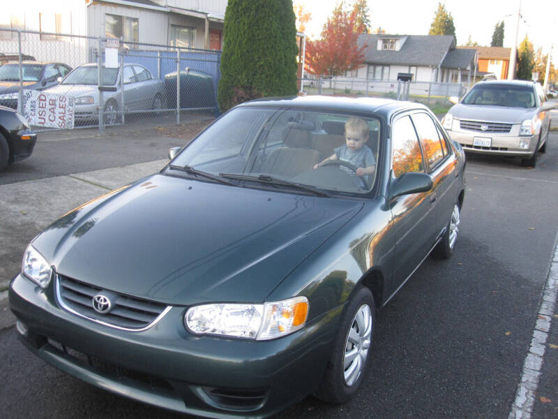 2002 Toyota Corolla for sale at All About Cars in Marysville-Washington State WA