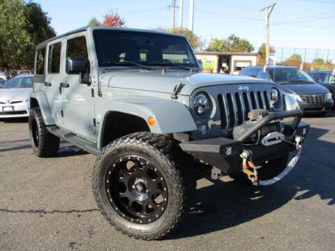 2015 Jeep Wrangler Unlimited for sale at Unlimited Auto Sales Inc. in Mount Sinai NY