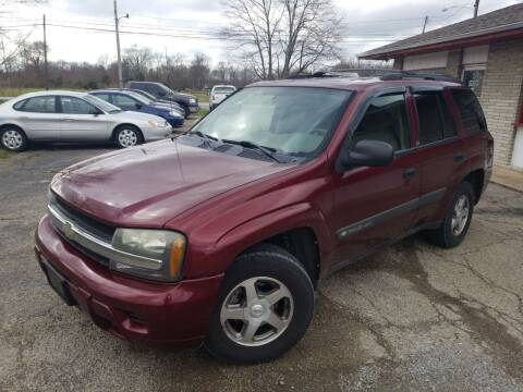 2004 Chevrolet TrailBlazer for sale at David Shiveley in Mount Orab OH