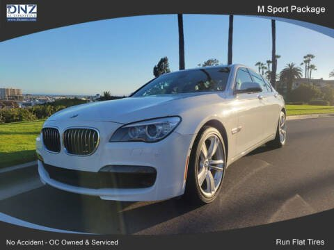 2015 BMW 7 Series for sale at DNZ Auto Sales in Costa Mesa CA