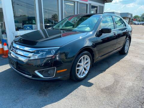 2010 Ford Fusion for sale at Martins Auto Sales in Shelbyville KY