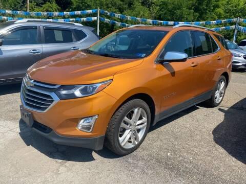 2018 Chevrolet Equinox for sale at Matt Jones Preowned Auto in Wheeling WV