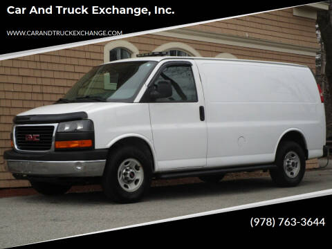2014 GMC Savana Cargo for sale at Car and Truck Exchange, Inc. in Rowley MA