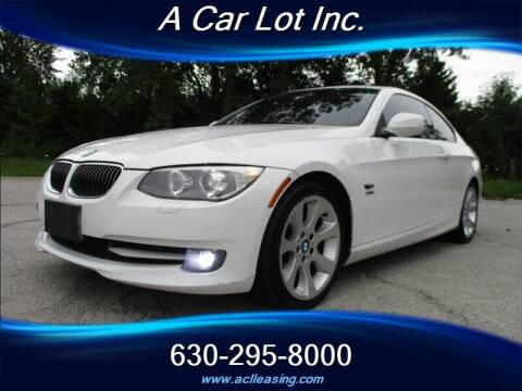 2011 BMW 3 Series for sale at A Car Lot Inc. in Addison IL