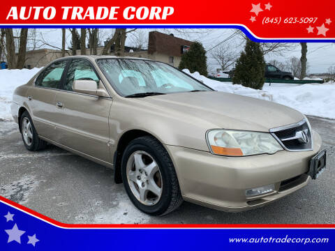 2003 Acura TL for sale at AUTO TRADE CORP in Nanuet NY