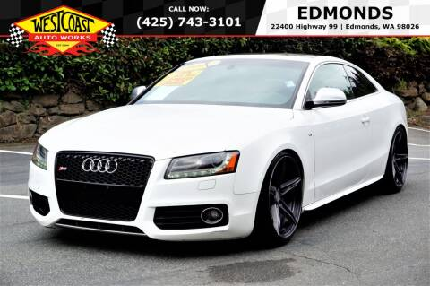 2009 Audi S5 for sale at West Coast Auto Works in Edmonds WA