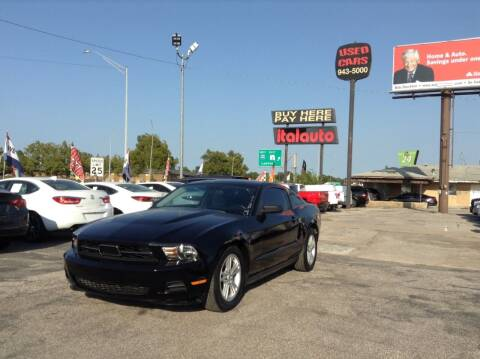2011 Ford Mustang for sale at Ital Auto in Oklahoma City OK