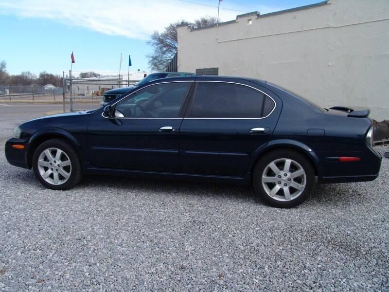2003 Nissan Maxima for sale at Heersche Auto Sales in Wichita KS