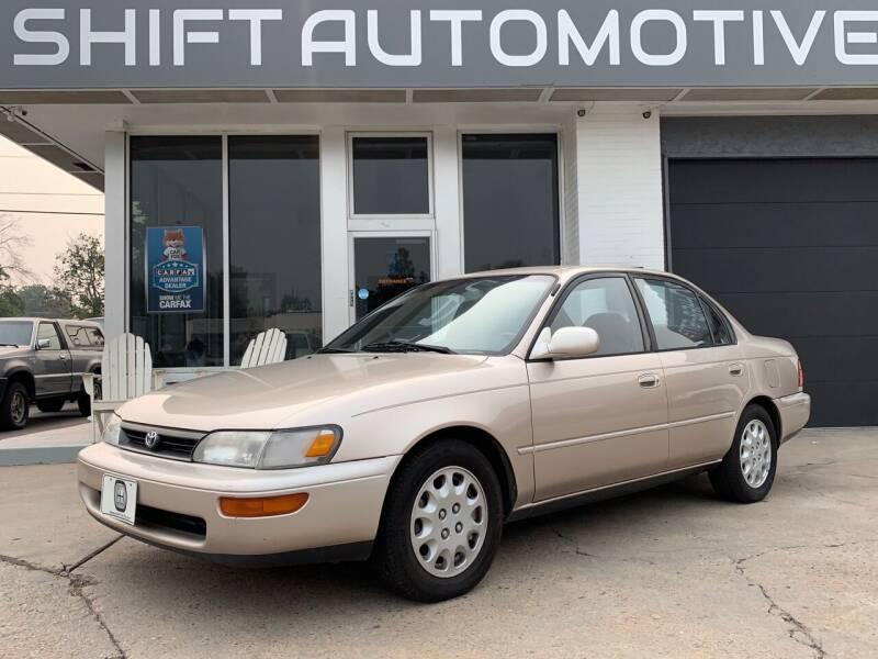 1994 Toyota Corolla for sale at Shift Automotive in Denver CO