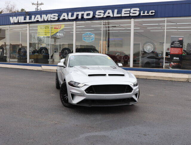 2018 Ford Mustang for sale at Williams Auto Sales, LLC in Cookeville TN