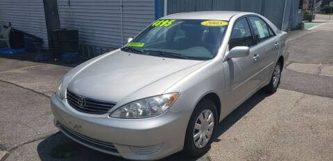 2005 Toyota Camry for sale at TC Auto Repair and Sales Inc in Abington MA