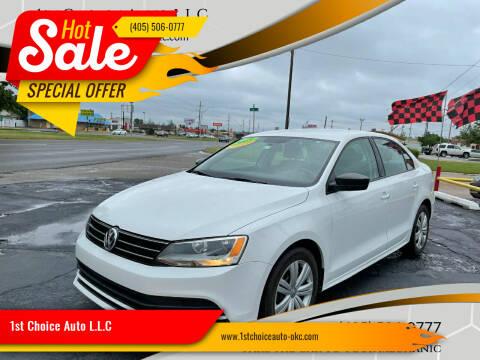 2015 Volkswagen Jetta for sale at 1st Choice Auto L.L.C in Oklahoma City OK