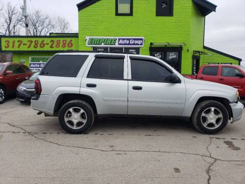 2007 Chevrolet TrailBlazer for sale at Empire Auto Group in Indianapolis IN