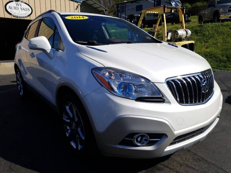 2014 Buick Encore for sale at W V Auto & Powersports Sales in Cross Lanes WV