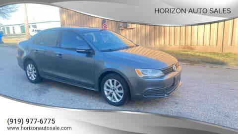 2011 Volkswagen Jetta for sale at Horizon Auto Sales in Raleigh NC