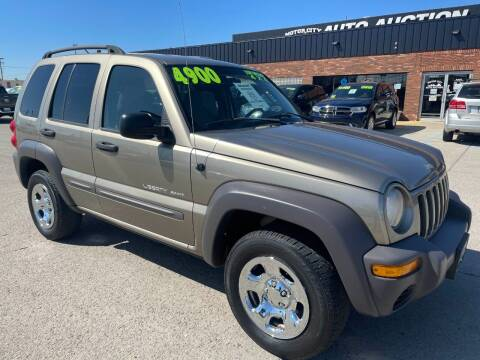2003 Jeep Liberty for sale at Motor City Auto Auction in Fraser MI