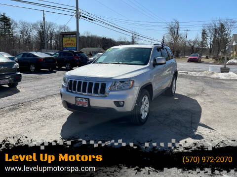 2012 Jeep Grand Cherokee for sale at Level Up Motors in Tobyhanna PA