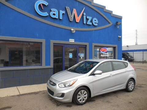 2017 Hyundai Accent for sale at Carwize in Detroit MI