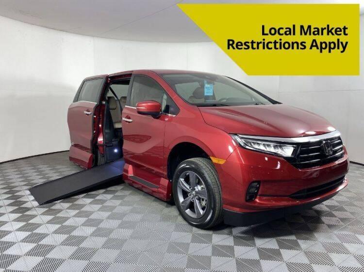 2022 Honda Odyssey for sale at AMS Vans in Tucker GA