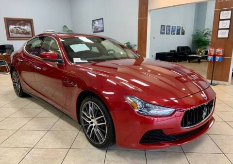 2017 Maserati Ghibli for sale at Adams Auto Group Inc. in Charlotte NC