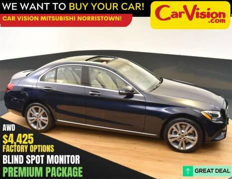 2018 Mercedes-Benz C-Class for sale at Car Vision Mitsubishi Norristown in Norristown PA