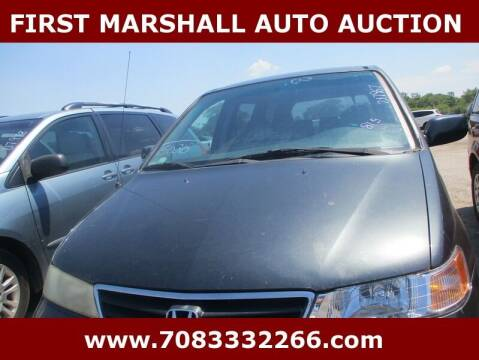 2003 Honda Odyssey for sale at First Marshall Auto Auction in Harvey IL