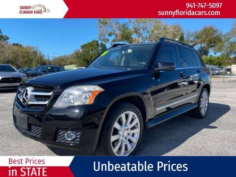 2010 Mercedes-Benz GLK for sale at Sunny Florida Cars in Bradenton FL