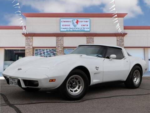 1978 Chevrolet Corvette for sale at Iconic Motors of Oklahoma City, LLC in Oklahoma City OK