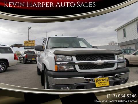 2005 Chevrolet Silverado 1500 for sale at Kevin Harper Auto Sales in Mount Zion IL