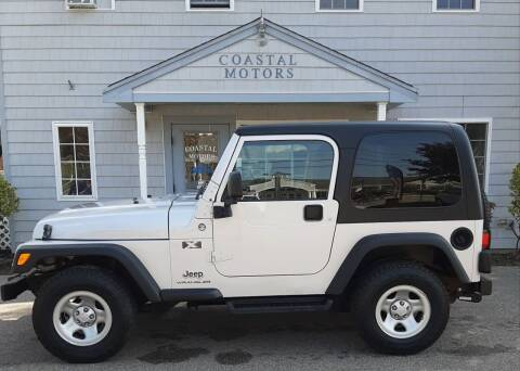 2006 Jeep Wrangler for sale at Coastal Motors in Buzzards Bay MA